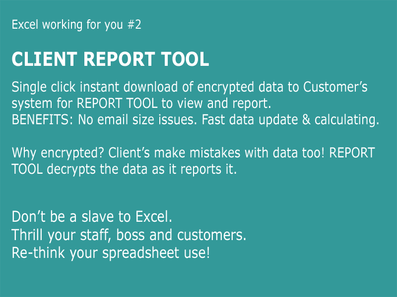 Client Report Tool